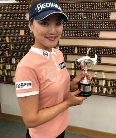 NEWS│다날달콤커피 후원 유소연 선수, 일본 프로골프투어 첫 우승