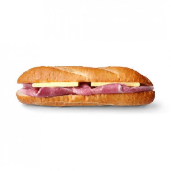 잠봉뵈르 바게트 샌드위치