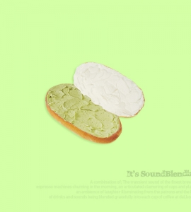 말차버터크림빵