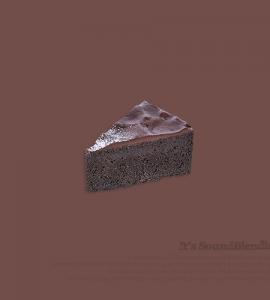 초코 퍼지 케익