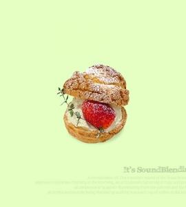 딸기 슈보로 (커스타드/생크림)