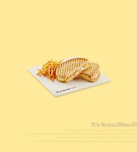 콘 치즈 파니니(오리지널)